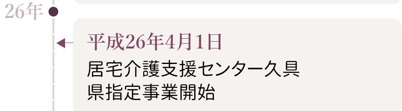 グループの歩み(平成27年)