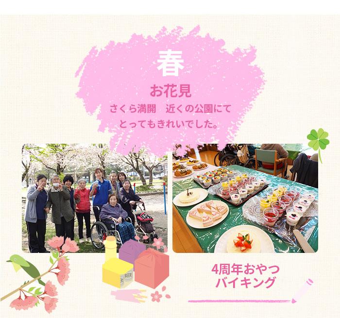 ケアホーム保田窪年間行事 春